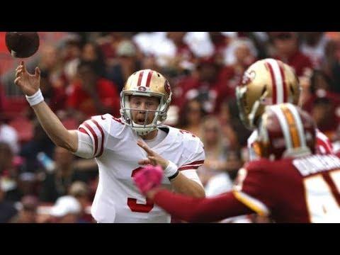 CJ Beathard San Francisco 49ers QB Film Review vs Redskins