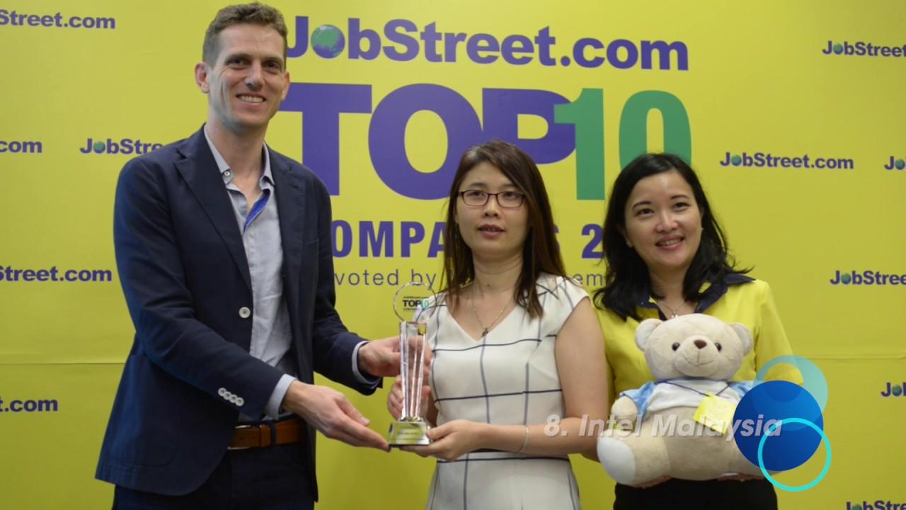 Jobstreet Top10 Companies In Malaysia 2017 Youtube