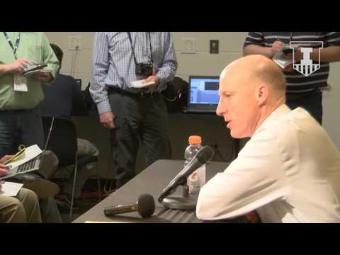 John Groce Press Conference Opening Statement at Iowa 2/18/17
