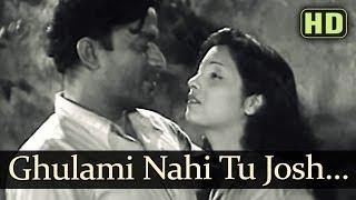 Ghulami Nahi Tu Josh Mai Aa (HD) - Dr. Kotnis Ki Amar Kahani Songs - Jayashree - V Shantaram