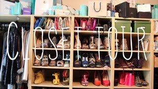 Welcome to my closet! Closet tour + tips