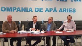 Live: Conferință de presă Compania de Apă Arieș (03.12.2019)