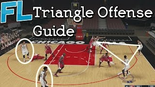 NBA 2K15: Triangle Offense Guide