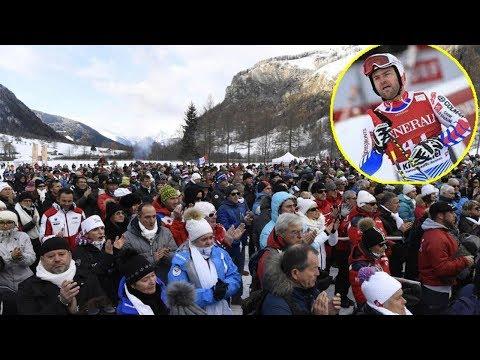 L'adieu émouvant à David Poisson en Savoie