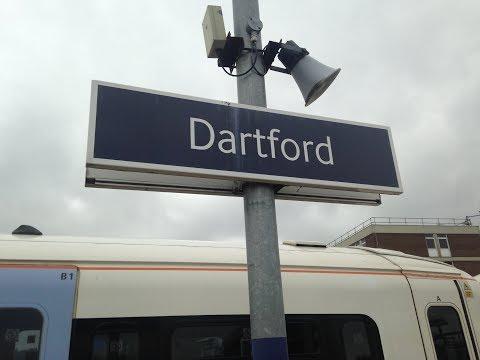 Full Journey on Southeastern from London Charing Cross to Dartford (via Bexleyheath)