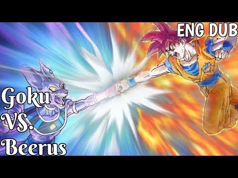 Goku VS. Beerus (Full Fight) [English Dub]