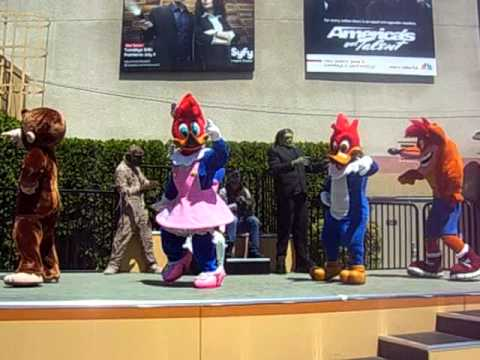 Universal Studios Hollywood - Staff Show