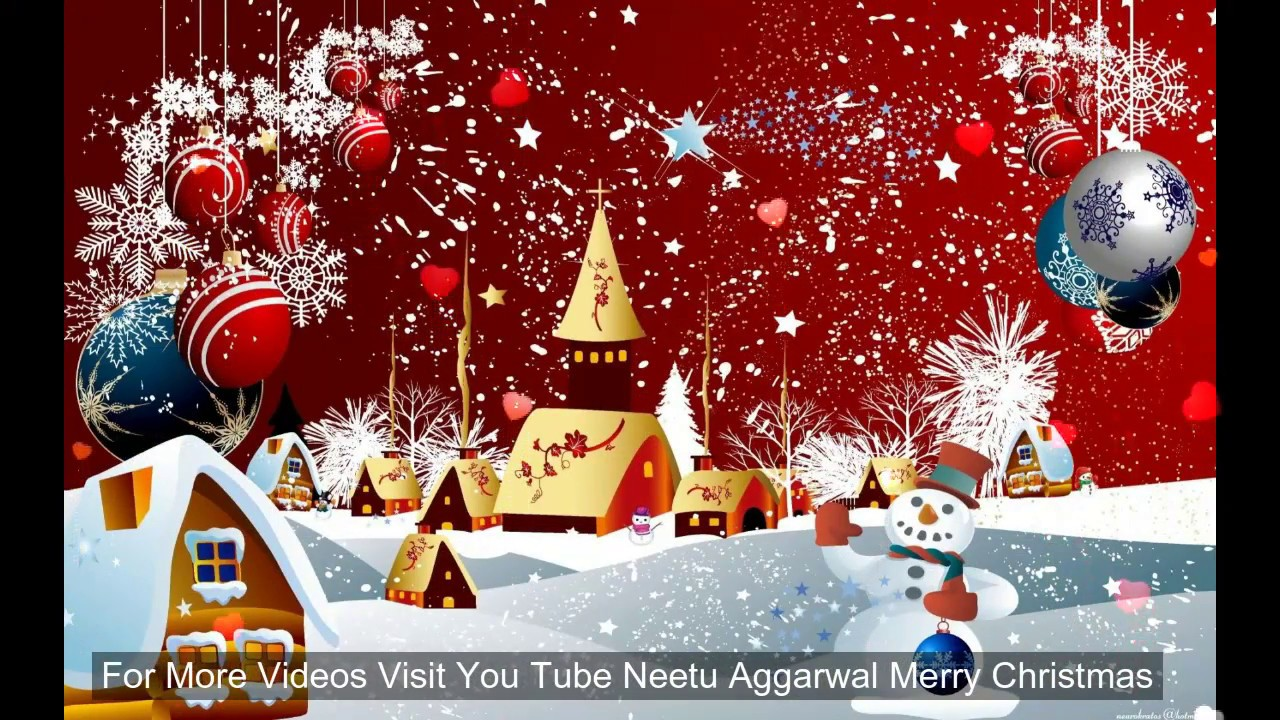 Merry Christmas Greeting Cards With Music Christmaswalls