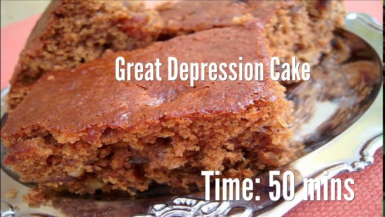 Great depression cake recipe youtube great depression cake recipe food recipes forumfinder Gallery