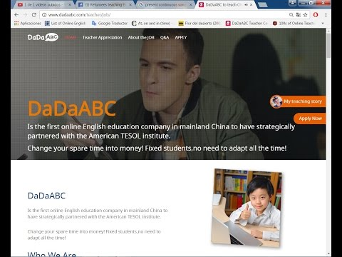 DadaABC: Teach English online from home!