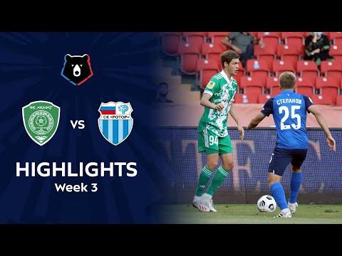 Akhmat Grozny R. Volgograd Goals And Highlights