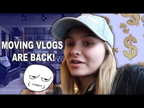 WE WENT FURNITURE SHOPPING! Moving vlog #3