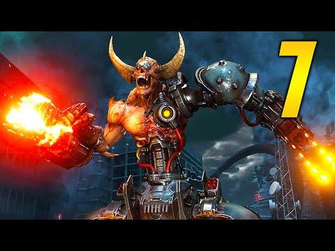 "doom-eternal---part-7-""two-doom-hunters!""-(gameplay-walkthrough,-let's-play)"