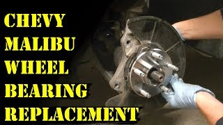 How to Replace a 2008-2012 Chevy Malibu Front Wheel Bearing (Step-by-Step Guide)