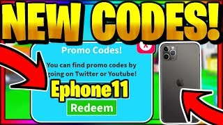 ALL *NEW* OP WORKING CODES! [🎉EPHONE11🎉 UPDATE] Roblox Texting Simulator