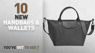 Longchamp Handbags & Wallets [2018 New Arrivals]: LONGCHAMP Le Pliage Neo Large Grey Handbag