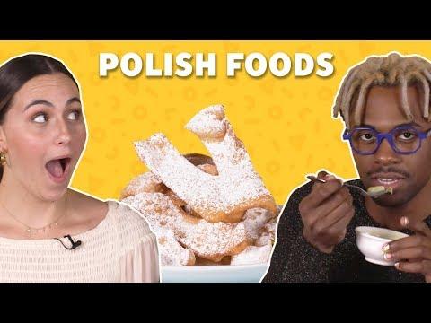 We Tried Polish Foods | TASTE TEST