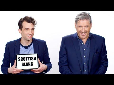 Craig Ferguson Teaches Scottish Slang to Jay Baruchel | Vanity Fair