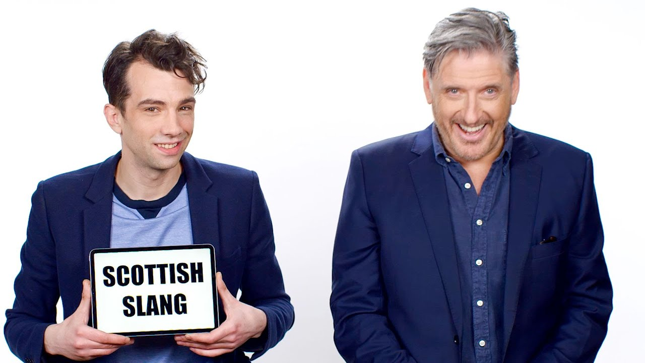 Craig Ferguson Explains Scottish Slang to Jay Baruchel