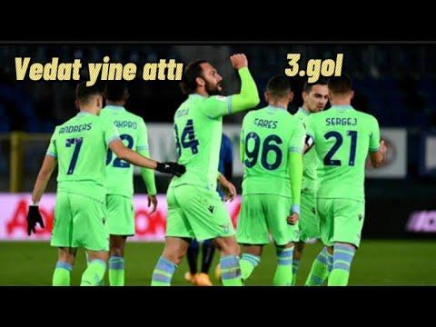 Vedat Muriqi'den bir gol daha.Atalanta - Lazio maçı.