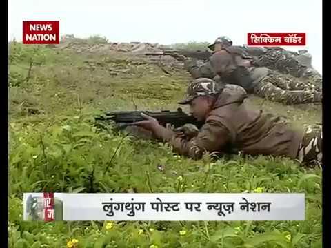 India   China Border से Live Reporting