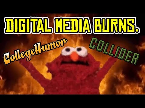 Collider and CollegeHumor IMPLODE as Digital Media BURNS at Shocking Rate!