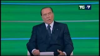 Berlusconi (setta di Forza Italia) TgLa7 09/02/2018
