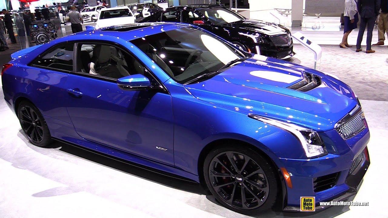 Cadillac Ats V Coupe >> 2018 Cadillac ATS-V Coupe - Exterior and Interior Walkaround - 2017 LA Auto Show - YouTube