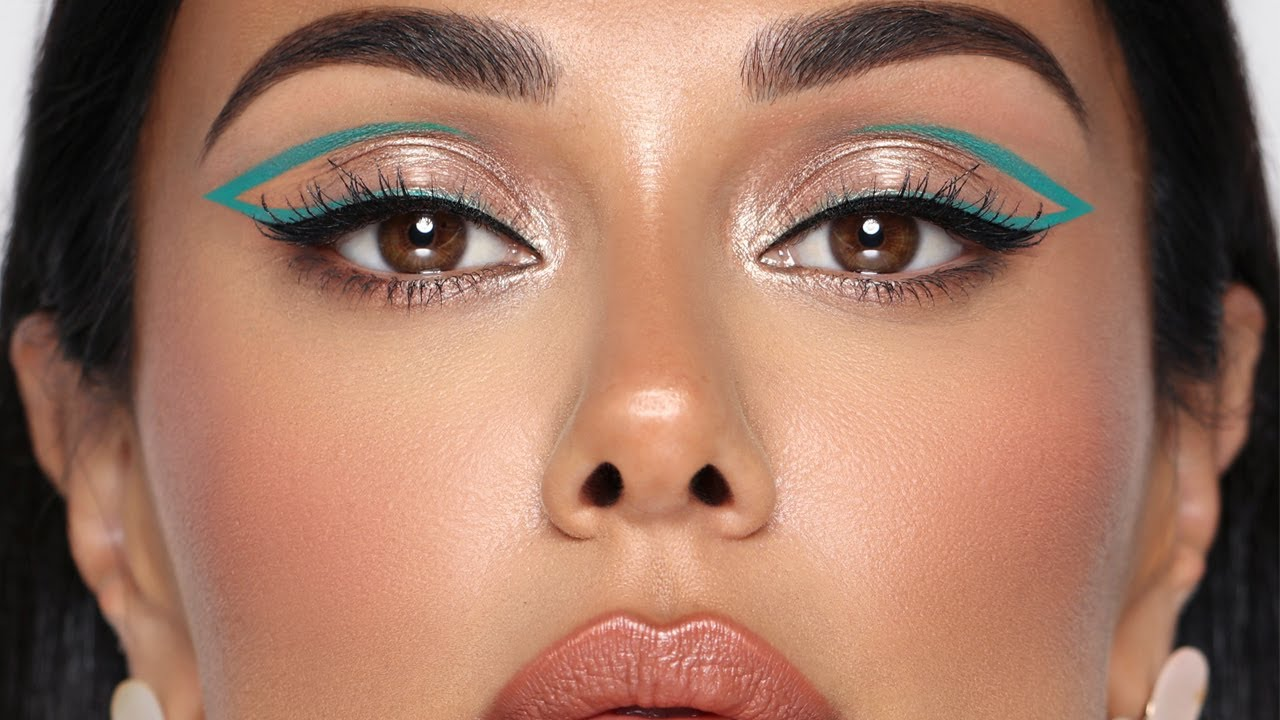 TEAL LINER SUMMER GLAM | Hindash