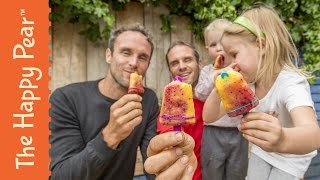 How to Make Homemade Fruit Popsicles Best Summer Recipe Treats - The Happy Pear