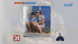 24 Oras: Woman who used earnings to buy grandson a phone for online classes gets aid