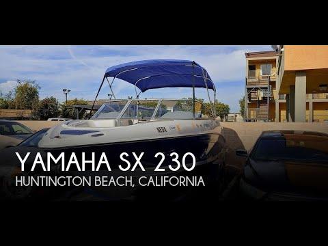 Used 2005 Yamaha SX 230 For Sale In Huntington Beach, California