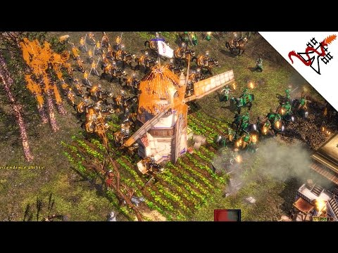 Age of Empires 3 - 3vs3 THE GREAT MIGRATION   Multiplayer Gameplay