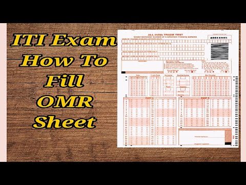 How To Fill OMR Sheet In Hindi 2019