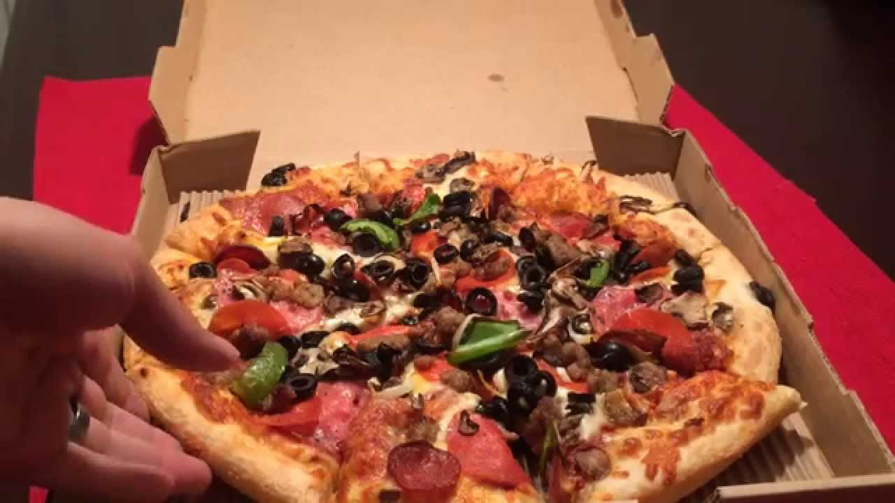 ROUND TABLE King Arthur Supreme Pizza Review YouTube - Round table delivery near me