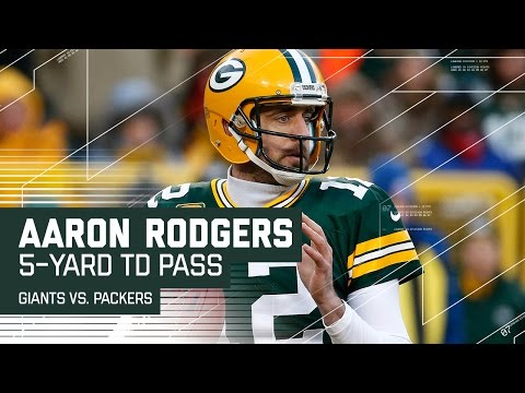 Rodgers Makes 2 Great Throws to Take the Lead! | Giants vs. Packers | NFL Wild Card Highlights