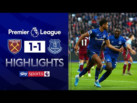 Calvert-Lewin cancels out Diop opener! | West Ham 1-1 Everton | Premier League Highlights