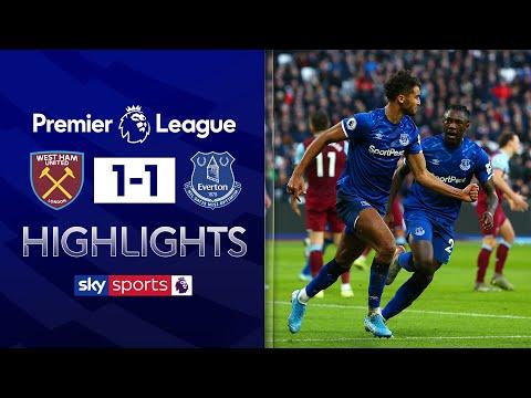 Calvert-Lewin cancels out Diop opener! | West Ham 1-1 Everton | Premier League Highlights