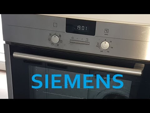 siemens iq500 einbaubackofen youtube. Black Bedroom Furniture Sets. Home Design Ideas