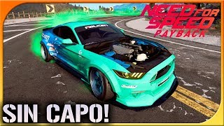 FORD MUSTANG GT DRIFT CON 1000CV!   NEED FOR SPEED PAYBACK #27   DEWRON