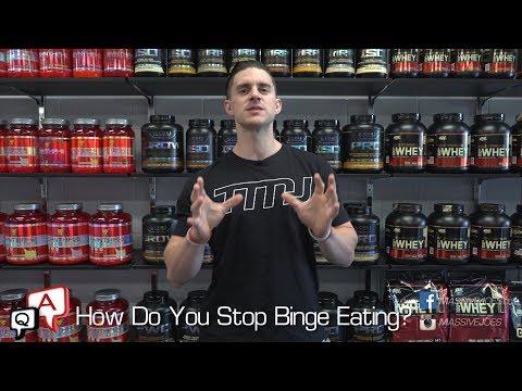 How Do You Stop Binge Eating?   MassiveJoes.com MJ Q&A