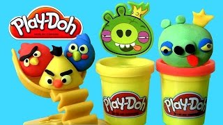 Play-Doh Angry Birds Build
