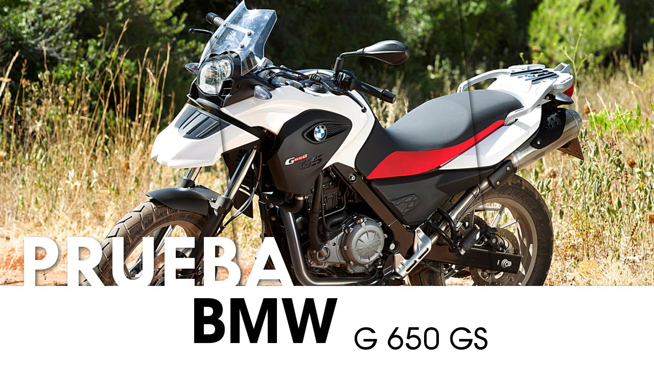 Bmw G 650 Gs Espanol 2013 Videoprueba Youtube