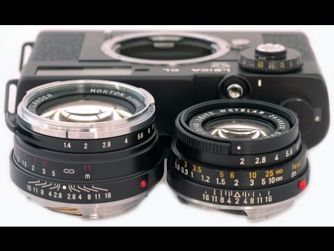 Best 35mm film Minolta CLE and XDs film cameras with zeiss and volgtlander lenses