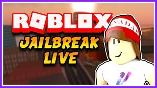 NEW JAILBREAK UPDATE TONIGHT 🔴 Playing With Viewers! - Roblox Jailbreak Live
