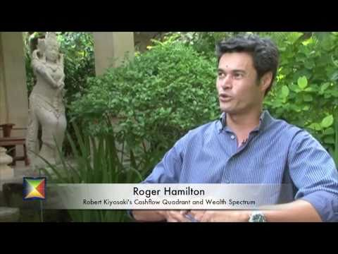 Roger Hamilton speaks on Robert Kiyosaki's Cashflow Quadrant and the Wealth Spectrum