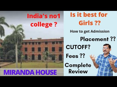 Miranda House(DU) Complete Review | No. 1 College ?🔥 | Placements? | Admission | LearninCommerce