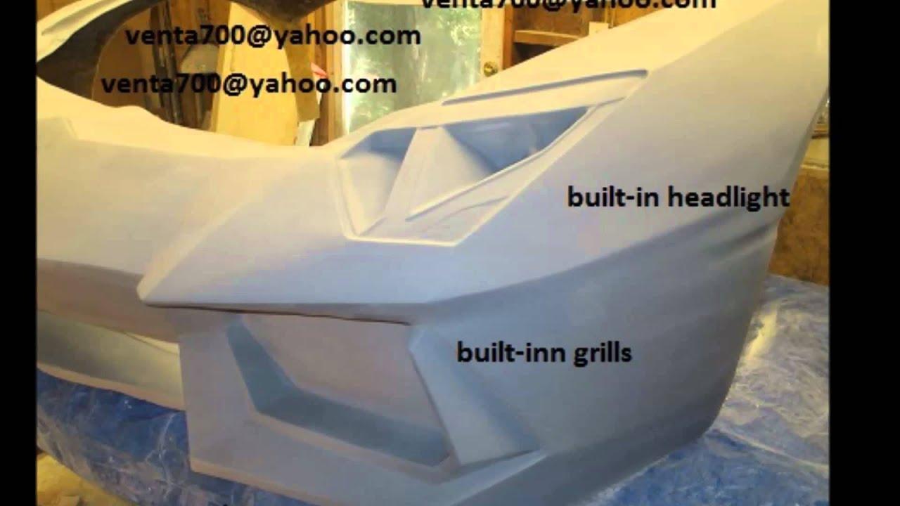Lamborghini Aventador Replica Body Kit For Sale Youtube