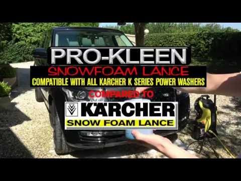 Pro-Kleen Snow Foam Lance - Compatible with Karcher K Series