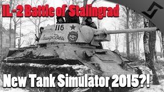 IL-2 Sturmovik: Battle of Stalingrad - TANK Gameplay - WW2 Tank Simulator